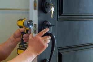 installing door lock Baldivis